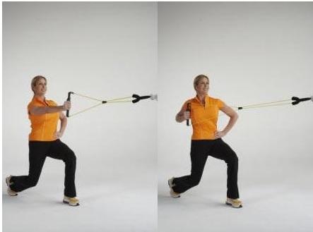 拉力器锻炼方法图解